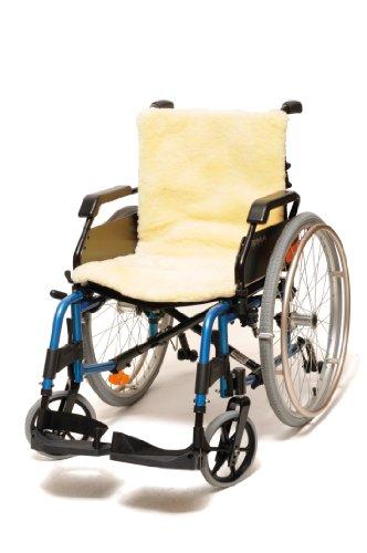 Ability Superstore - Rollstuhlauflage aus reiner Wolle, 46 x 46cm