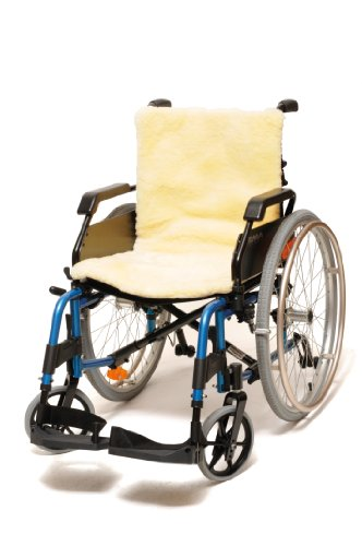 Ability Superstore - rolstoelkussen van pure wol, 46 x 46 cm
