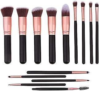 14 Piece Brush Professional Set Cover all your makeup needs, makeup brush set,Rose Gold Makeup Brushes,makeup brushes set ...