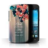 Hülle Für Huawei Ascend Y600 Christliche Bibel Vers God