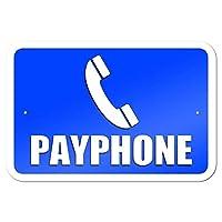 公衆電話 金属板ブリキ看板警告サイン注意サイン表示パネル情報サイン金属安全サイン
