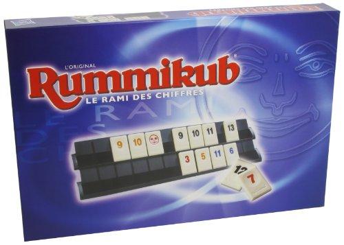 Rummikub Chiffres, Jeu de societe de reflexion, Jeu de plateau type educatif, Version francaise