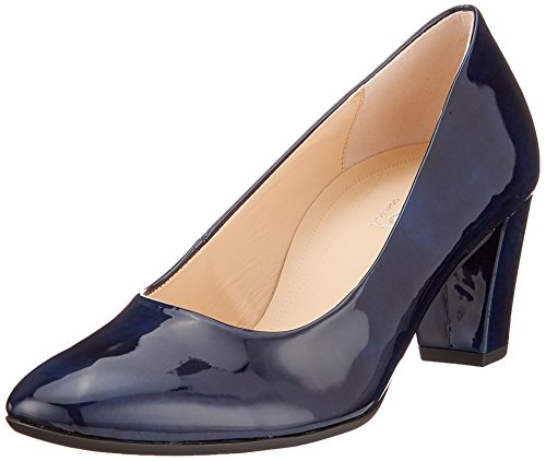 Gabor Shoes Damen Comfort Fashion Pumps, Blau (Marine), 37 EU