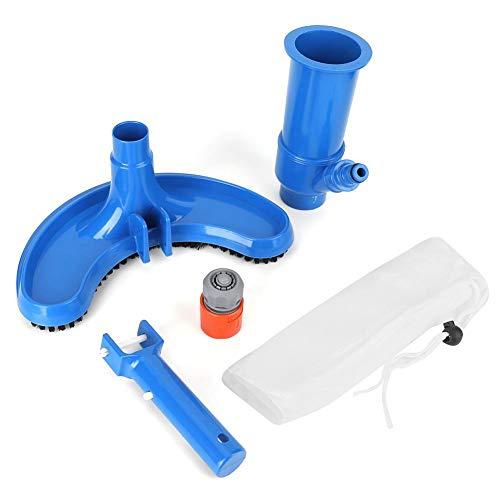 Cepillo de aspiración Limpiador Kit de Mantenimiento Juego de Herramientas de Limpieza para Piscinas