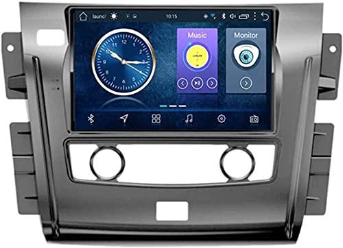 GPS Navigation Head Unit Sat Nav AUD Audio Player MP5 FM Radio Receptor Coche Estéreo 6.2 Pulgadas Táctil Android 10.0 Compatible para Nissan Tour 2018,8 Core 4G+WiFi 4+64GB