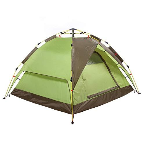 IRVING Equipo Exterior, 2-3 Personas, Free Ride, montañismo, Camping, Doble Carpa. (Color : Green)