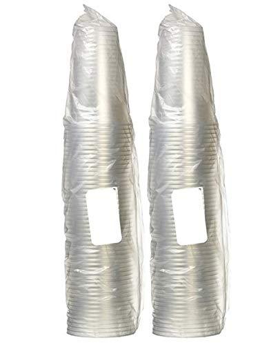 ニッチプラス(Niche Plus)COLD専用使い捨てPET樹脂カップ クリア 420ml 100個入