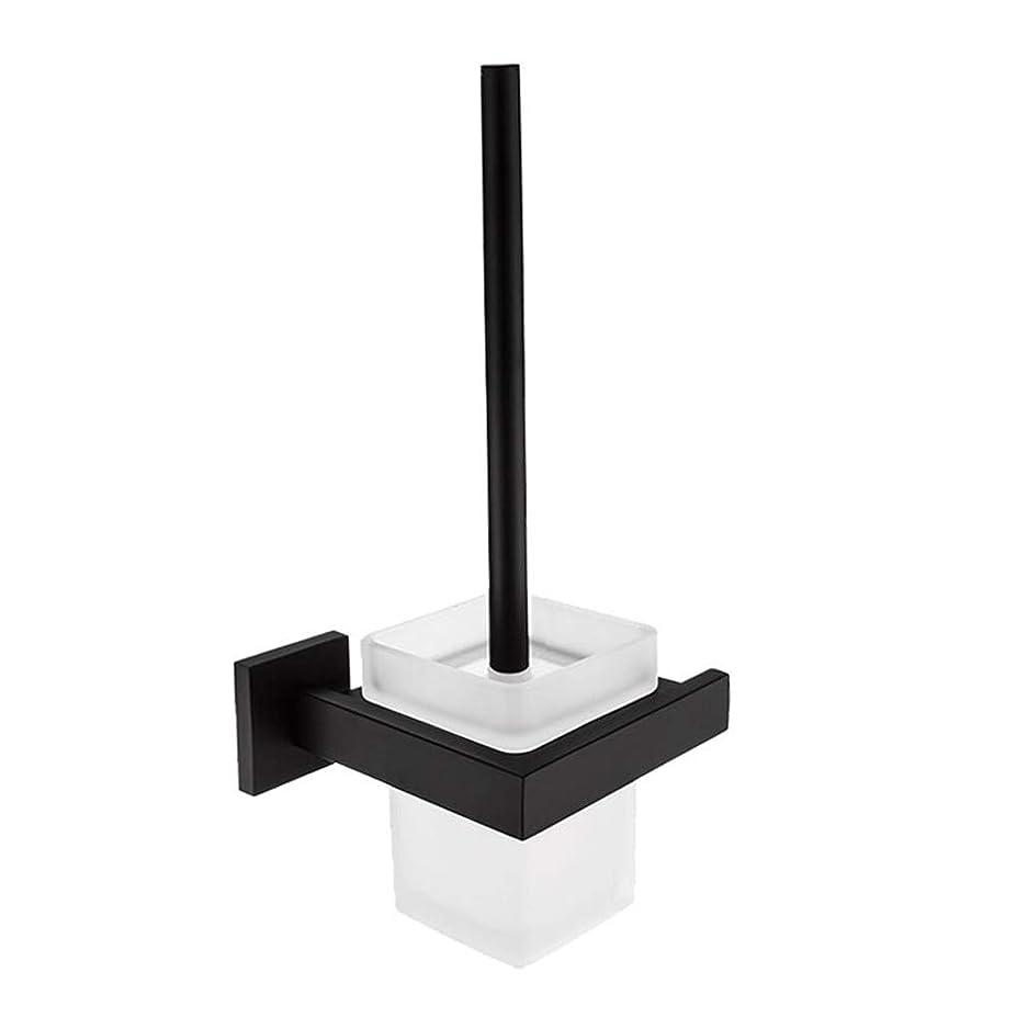 マットレス送料事件、出来事黒304ステンレス鋼のトイレブラシホルダー家庭用品ウォールが設定し苦労ブラシ装飾浴室ハードウェアアクセサリをマウント