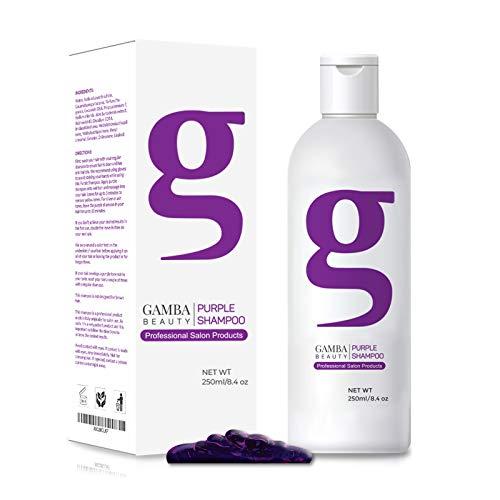Professional Purple Shampoo for Blonde Hair:...