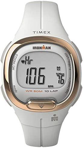 TIMEX IRONMAN Transit Watch with Activity Tracking Heart Rate 33mm White with Resin Strap product image