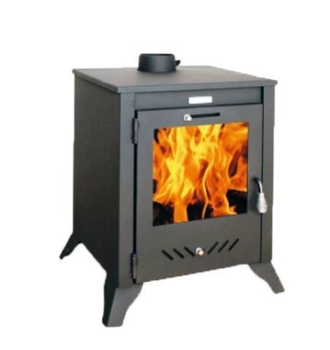 Kupro Grando, stufa a legna per riscaldamento diretto, 14kW