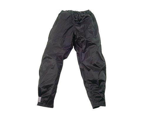 Hock Regenbekleidung Erwachsene Regenhose Rain Guard Zipp, Schwarz, bis 185cm (Large), 12203