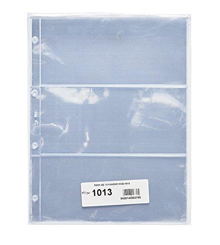Pardo 101300 - Pack de 10 fundas para colección variada, 3