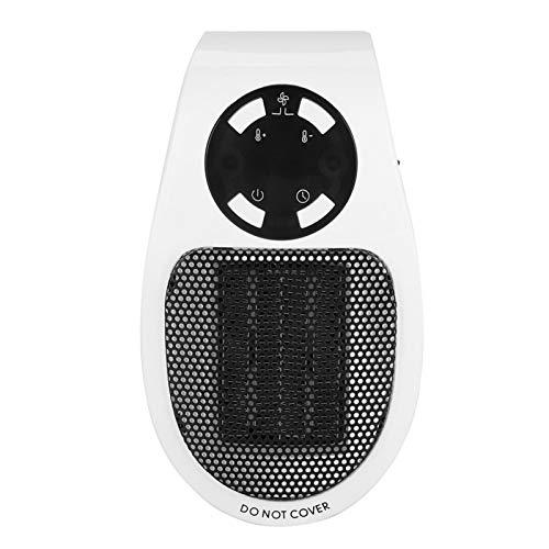 Mini calentador de 110-220 V Temporizador incorporado limpio e insípido Mini ventilador de calentador confiable, para precalentar la habitación