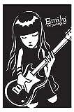 Hatytoyu Emily The Strange BASS Guitar Wandkunst P