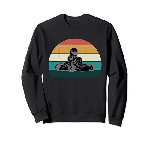 Go Kart Racer: Cooles Vintage Karting / Motor Racer Geschenk Sweatshirt
