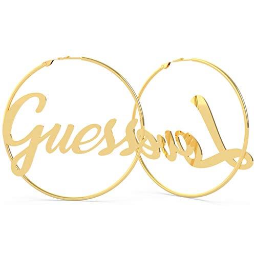Pendientes Aro mujer Logo Guess Jewellery ' Dream & Love' UBE70116 (Dorado)