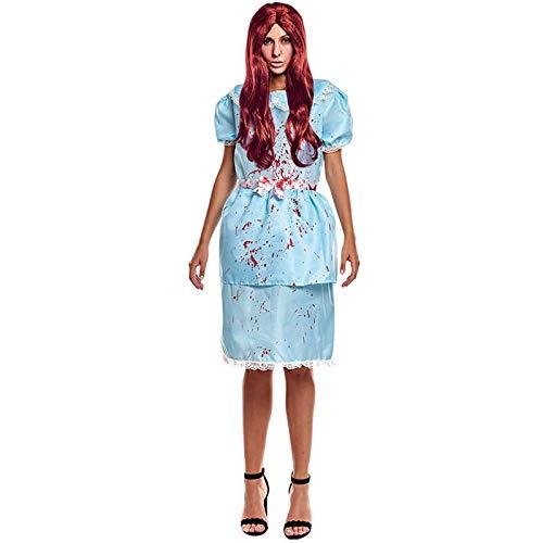Disfraz Gemela Ghost Twins Mujer (Talla L) Halloween