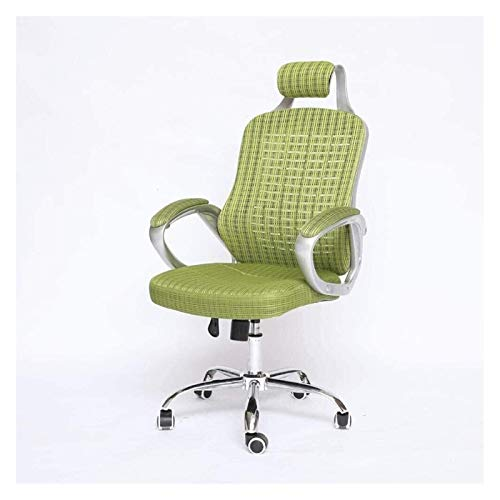 Daily Equipment Executive Swivel Office Chair Green Paint Pillow Mesh Swivel Chair Home Office Chair Computer Chair Home Chair Racing Chair Dormitory Chair Offico Chair Comfortable and Healthy Wais