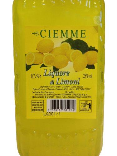 Limoncello Distilleria Ciemme, Liquore di Limoni 0,7 L, Italienischer Zitronenlikör 25% Vol. - 3