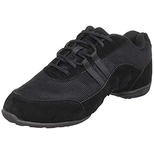 Sansha Blitz3 - Zapatillas de baile (suela delantera), color Negro, talla 36 2/3 EU