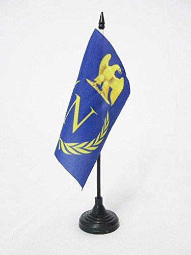 Le drapeau de table bouclier Napoléon