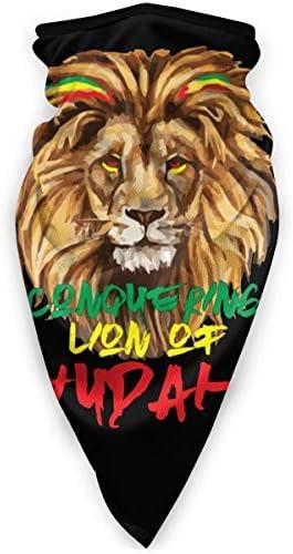 Conquering Lion of Judah Balaclava Face Mask Travel Mask Ski Mask Windproof Face Mask product image