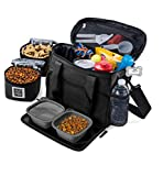 Mobile Dog Gear, Week Away Dog Travel Bag for Small Dogs, Includes Lined...