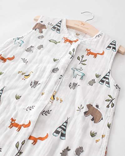 Little Unicorn | Cotton Muslin Sleep Bag XL - Gigoteuse mousseline coton taille XL (Dino Friends)