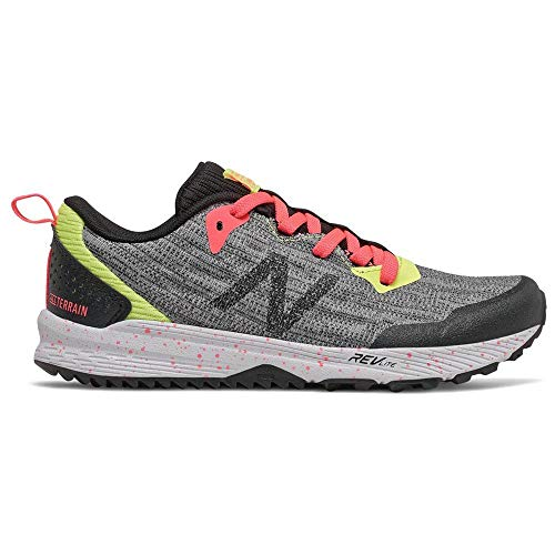 YPNTRST3 Trailschuhe für Mädchen oder New Balance Nitrel Grau und Schwarz, Pink - grau - Größe: 35 EU
