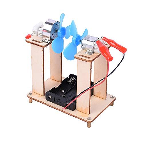 Goolsky Experimente & Forschung Erfindungen Assembled Models Toys Lernwerkzeug Kit-Wind Power Generation