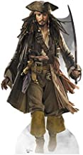 Captain Jack Sparrow - Disney's Pirates of the Caribbean - Advanced Graphics Life Size Cardboard Standup by Advanced Graphics