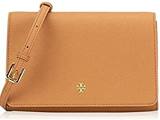 Tory Burch Women's Emerson Combo Cross-Body Handbag, Saffiano Leather - Cardamom