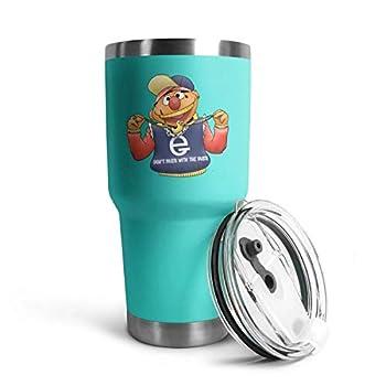 Unisex Ernie-Gang-sesame-muppet-Sesame-Street- Vacuum Modern 30 oz Stainless Steel Tumblers for Men/Women