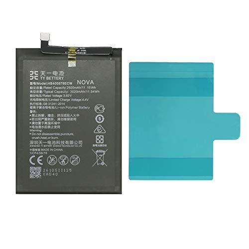 [TY BETTERY] Akku kompatibel mit HB405979ECW Huawei Y6 2017/P9 LITE Mini 2017/Y6 pro 2017/ Y5 2019/NOVA/Y5 2018/Y6 2019/Y6 PRO