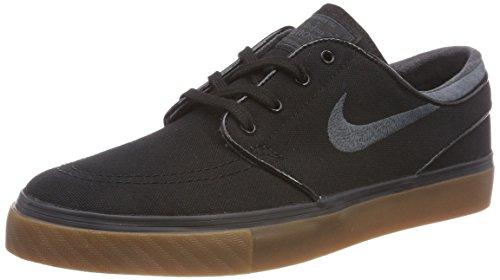 Nike Zoom Stefan Janoski Cnvs, Scarpe da Skateboard Uomo, Nero (Blackanthracitegum Med Brown 020), 47.5 EU