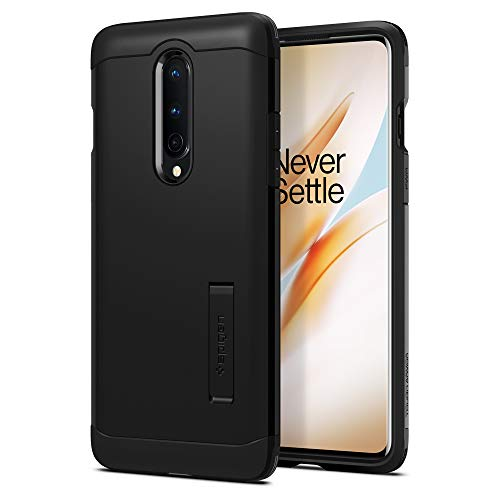 Spigen Tough Armor Designed for OnePlus 8 Case (2020) [NOT Compatible with Verizon UW Version] - Black