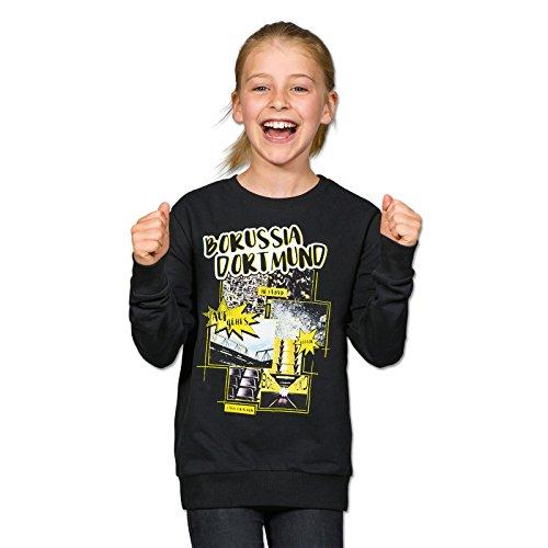 BVB Kinder Sweatshirt Comic, mehrfarbig, 176, 2466491