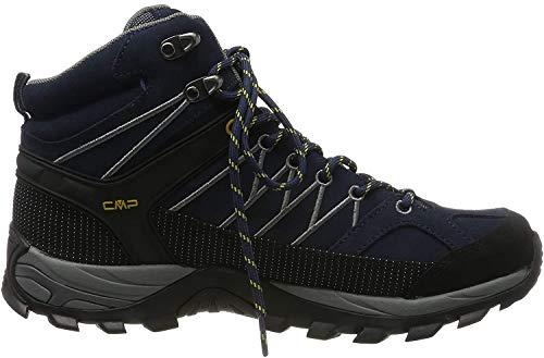CMP Herren Rigel Mid Shoe Wp Trekking- & Wanderstiefel, Blau (B.Blue-Graffite 10nd), 44 EU