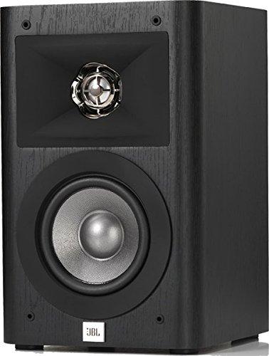 JBL Studio 230 2-Wege 6,5' Regallautsprecher mit 1' CMMD Lite-Hochfrequenztreiber und High Definition Imaging (HDI)-Waveguide für Heimkinosound (1 Paar) - Schwarz