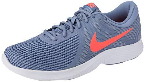 Nike Herren Revolution 4 EU Laufschuhe, Mehrfarbig (Ashen Slate/Flash Crimson/Diffused Blue 464), 44.5 EU