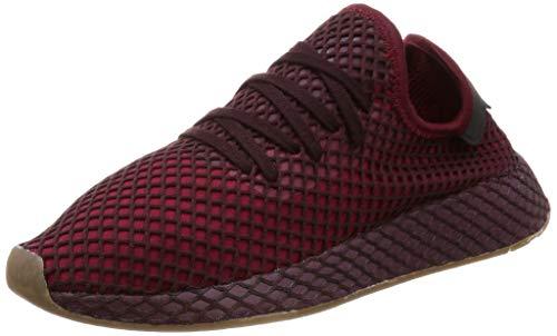 adidas Herren Deerupt Runner Gymnastikschuhe, Rot (Collegiate Burgundy/Collegiate Burgundy/Ash Green S18), 43 1/3 EU