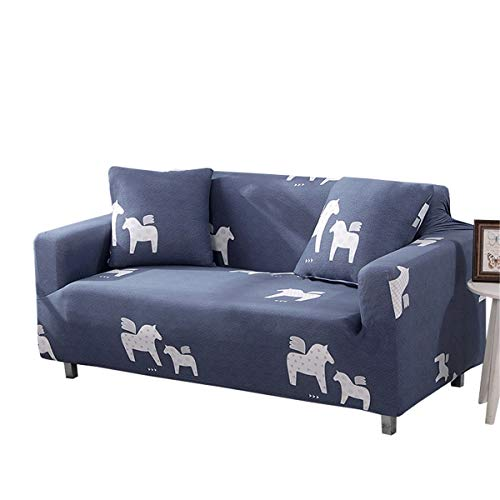 Yunchengyunxiangtong Stretch Couch All-Inclusive-Abdeckung Tuch Cover Universal Dust Cover Einfache Faule Stretch-Sofa-Abdeckung (Size : Triple)