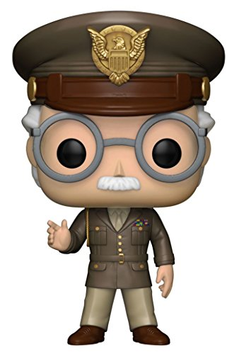 Funko - Captain America : The First Avenger-Stan Lee Figurine, Multicolore, 23126