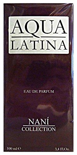 Nani Aqua Latina Eau De Parfum, Uomo, 100 ml