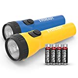Eveready 2-Pack LED Flashlight Multi-Pack, Bright and Durable, Super Long Battery Life, Use for Emergencies, Camping,...