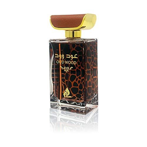 OUD WOOD AL RAHEEB Parfum voor Man en Vrouw 100ML Oosterse Arabische Eau de Parfum, Hoge kwaliteit OPMERKINGEN: bergamot, viooltjes, rozen, patchouli, amber, leer, eikenmos, witte musk
