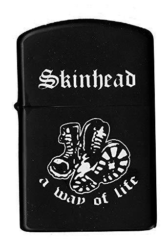S&D Skinhead Way Of Life – Sturmfeuerzeug, nachfüllbar