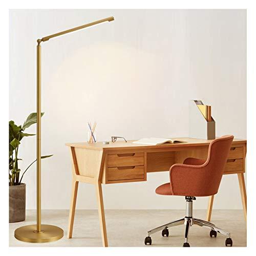 Lámpara LED pie, Sencilla y Moderna Sala de Estar nórdica sofá Cama Vertical Mesa pie Nivel de energía de la luz de Lectura de protecció