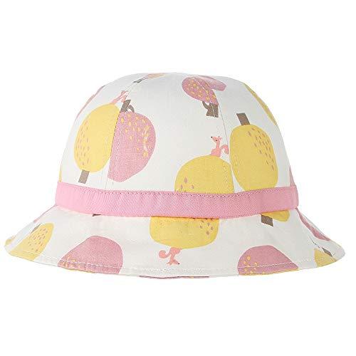 Bin Zhang 2019 garçon Fille crème Solaire Mignon Chapeau de pêcheur de Bande dessinée Impression de Chapeau de Soleil des Animaux Taille 49cm (Couleur : Rose, Taille : 49)